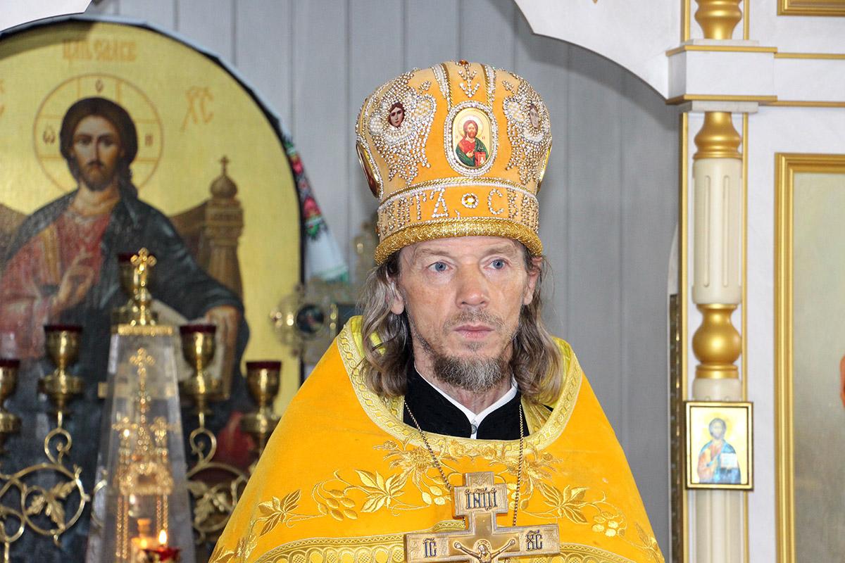 Поздравление с 55-летием  отца Вадима