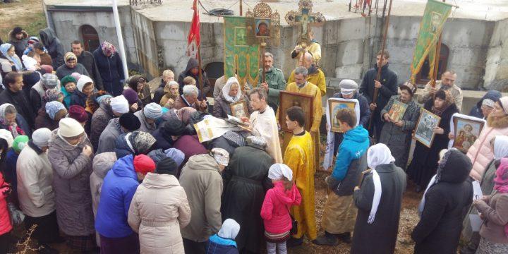 Поздравление с 20 летним юбилеем храма Рождества Христова поселка Молодежное.