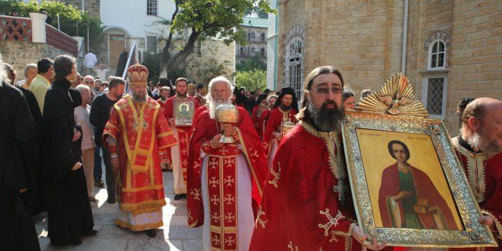 9 августа — День святого мученика Пантелеймона